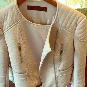 Zara faux moto jacket
